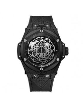 Fake Hublot Big Bang Unico Sang Bleu Black Magic Watch 415.CX.1112.VR.MXM18