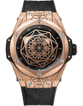 Replica Hublot Big Bang Unico Sang Bleu King Gold 45mm Mens Watch