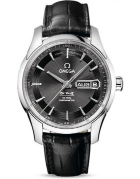 Popular Replica Omega De Ville Hour Vision Annual Calendar 41mm Grey Dial 431.33.41.22.06.001