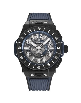 Replica Hublot Big Bang Unico GMT Carbon 45mm Mens Watch