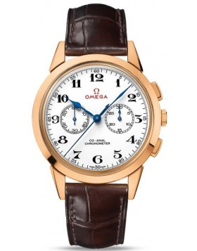 Replica Omega Specialities Olympic Official Timekeeper Rose Gold Mens Watch