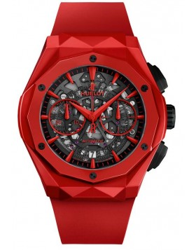 Fake Hublot Classic Fusion Aerofusion Chronograph Orlinski Red Ceramic Watch 525.CF.0130.RX.ORL19
