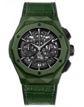 Fake Hublot Classic Fusion Aerofusion Chronograph Orlinski Green Ceramic Watch 525.GX.0179.LR.ORL19