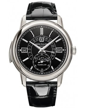 Replica Patek Philippe Grand Complications Tourbillon Minute Repeater Perpetual Calendar Platinum