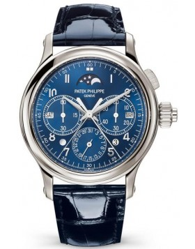 Replica Patek Philippe Grand Complications Perpetual Calendar Split-Seconds Chronograph Blue