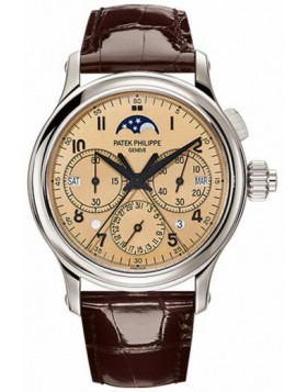 Replica Patek Philippe Grand Complications Perpetual Calendar Split-Seconds Chronograph Rose