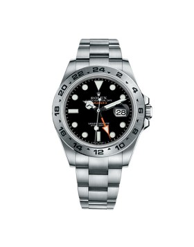 Rolex Explorer II Black Mens Watch Replica