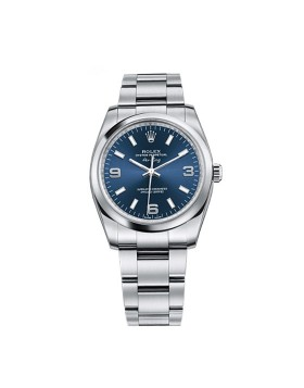 Rolex Oyster Perpetual Air-King Blue Ladies Watch Replica