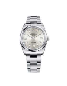 Rolex Oyster Perpetual Air-King Silve Red Ladies Watch Replica