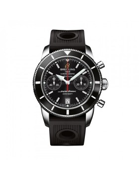 Breitling Superocean Heritage Chronograph 44 BlacK Dial Mens Watch Replica