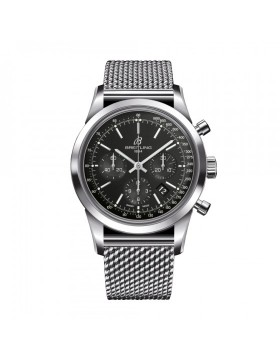Popular Replica Breitling Transocean Chronograph 38 Black Dial Watch A4131012/BC06/171A
