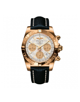 Breitling Chronomat 41 Rose Gold Mens Watch Replica
