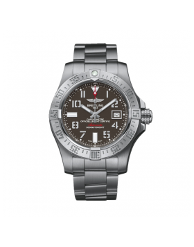 Breitling Avenger II Seawolf Tungsten grey Dial Mens Watch Fake