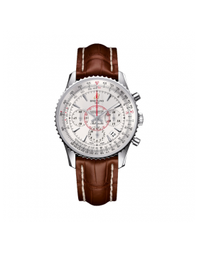 Popular Replica Breitling Montbrillant 1 Dial Mercury Silver Mens Watch AB013012/G709/724P/A18BA.1