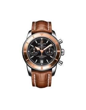 Breitling Superocean Heritage Chronograph 44 Red Gold Mens Watch Replica