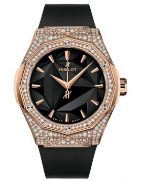 Fake Hublot Classic Fusion Orlinski King Gold Pave Watch 550.OS.1800.RX.1604.ORL19