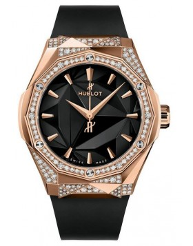Fake Hublot Classic Fusion Orlinski King Gold Alternative Pave Watch 550.OS.1800.RX.1804.ORL19
