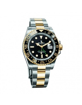 Rolex Gmt-Master II Steel Yellow Gold Mens Watch Replica