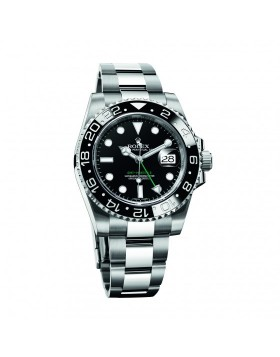 Rolex Gmt-Master II Black Bezel Mens Watch Replica
