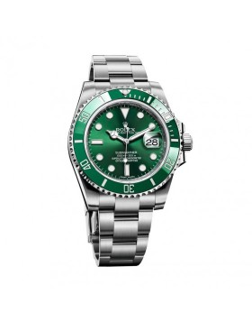 Rolex Submariner Date Green Bezel Mens Watch Replica