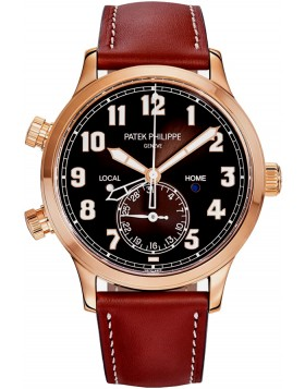 Patek Philippe Calatrava Pilot Travel Time Mens Watch Replica