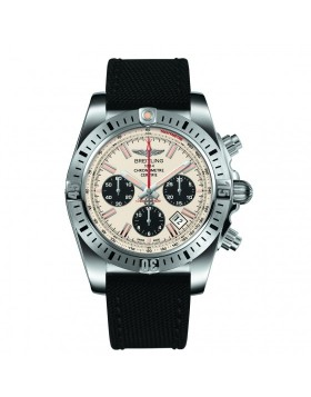 Breitling Chronomat 44 Airborne Silver Dial Mens Watch Replica