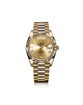 Rolex Day-Date 40 Yellow Gold Mixed Watch Replica