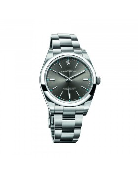 Rolex Oyster Perpetual 39 Rhodium Mixed Watch Replica
