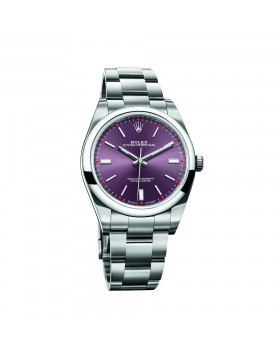 Rolex Oyster Perpetual 39 Red Grape Mixed Watch Replica