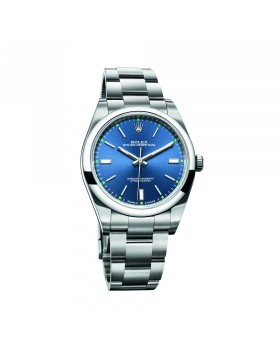 Rolex Oyster Perpetual 39 Blue Mixed Watch Replica
