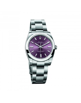 Rolex Oyster Perpetual 34 Red Grape Mixed Watch Replica