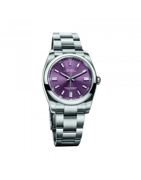 Rolex Oyster Perpetual 36 Red Grape Mixed Watch Replica