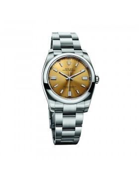 Rolex Oyster Perpetual 36 Champagne Mixed Watch Replica