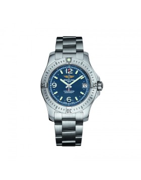 Breitling Colt 36 Blue Dial Ladies Watch Replica
