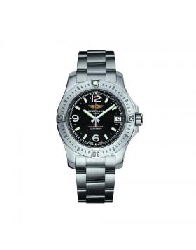 Breitling Colt 36 Black Dial Ladies Watch Replica