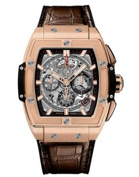 Replica Hublot Spirit of Big Bang King Gold 42mm Mens Watch