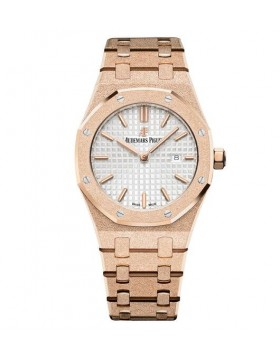 Replica Audemars Piguet Royal Oak Frosted Gold Quartz 33mm Ladies Watch