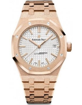 Fake Audemars Piguet Royal Oak Frosted Gold 67653OR.GG.1263OR.02
