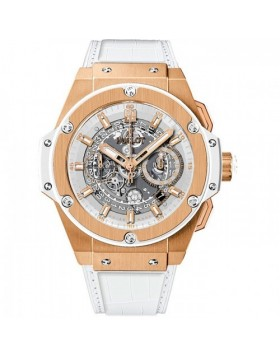 Fake Hublot King Power Skeleton Dial Automatic Mens Watch 701.OE.0128.GR