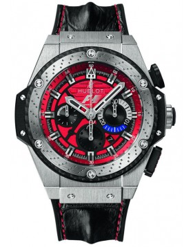 Fake Hublot King Power Formula 1 Austin Red Dial Chronograph 703.NQ.8512.HR.FTX12