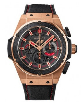 Fake Hublot King Power Formula 1 Rose Gold 703.OM.1138.NR.FM010