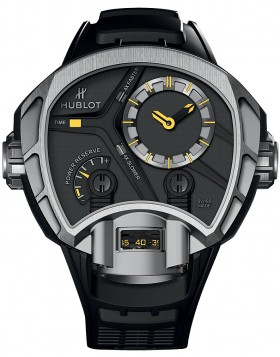 Replica Hublot Masterpiece Mp-02 Key of Time Titanium Mens Watch