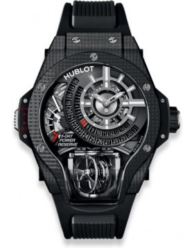 Hublot MP-09 Tourbillon Bi-Axis 3D Carbon Watch Replica