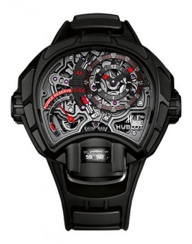 Hublot MP-12 Key Of Time Skeleton All Black Mens Watch Replica