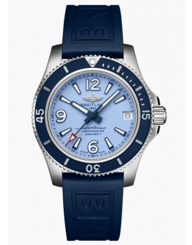 Fake Breitling Superocean Automatic 36 Steel Blue Watch A17316D81C1S1