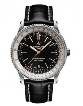 Fake Breitling Navitimer 1 Automatic 41 Black Dial Mens Watch A17326211B1P1