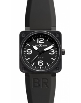 Replica Bell & Ross BR01-92 Automatic 46mm BR01-92 Carbon Mens Watch