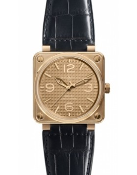 Replica Bell & Ross BR01-92 Automatic 46mm BR01-92 Rose Gold Ignot Mens Watch