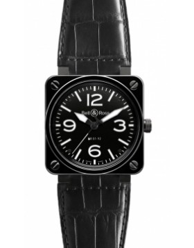Replica Bell & Ross BR01-92 Automatic 46mm BR01-92 Ceramic Mens Watch
