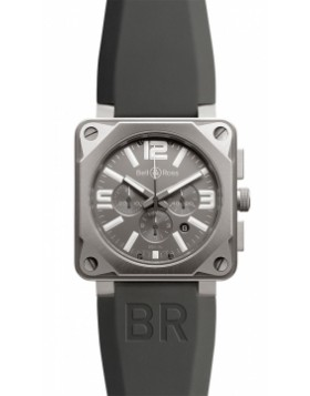 Replica Bell & Ross BR01-94 Chronograph 46mm BR01-94 Pro Titanium Mens Watch